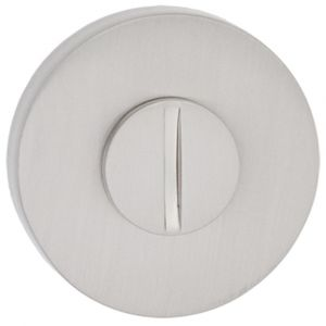 Artitec Luxuria WC garnituur LU rond 52 mm mat nikkel WC 8 mm - A23001236 - afbeelding 1