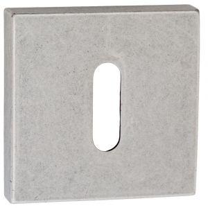 Artitec Luxuria sleutelrozet paar LU 52x52 mm antiek zilver - A23001188 - afbeelding 1