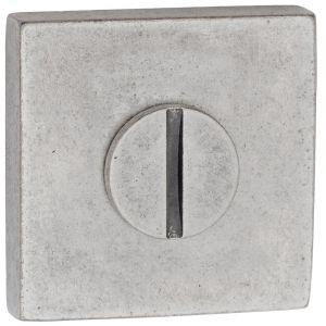 Artitec Luxuria WC garnituur LU 52x52 mm antiek zilver WC 8 mm - A23001237 - afbeelding 1