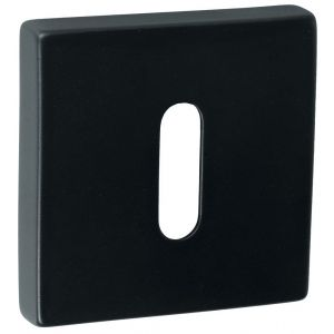 Artitec Luxuria sleutelrozet paar LU 52x52 mm zwart - A23001189 - afbeelding 1