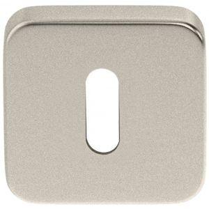 Artitec Luxuria sleutelrozet paar LU 50x50 mm mat nikkel PVD - A23001192 - afbeelding 1