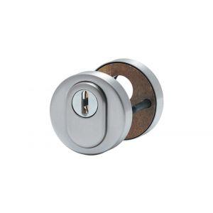 Artitec veiligheidsrozet paar set G DIN ES1-SKG*** RVS mat kerntrekbeveiliging-PC - A23001399 - afbeelding 1