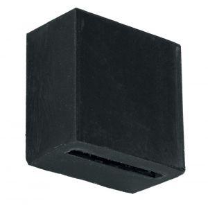 Artitec rubber buffer voor jashaak zwart - A23000678 - afbeelding 1
