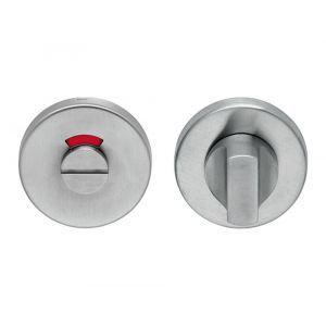 Artitec WC garnituur PL RVS mat noodontgrendeling WC 8 mm R-W-G - A23001202 - afbeelding 1