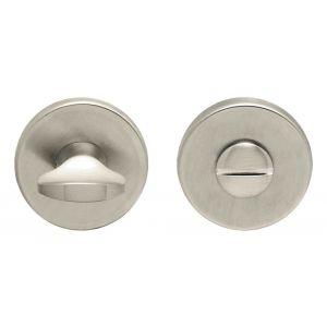Artitec Luxuria WC garnituur LU rond 50 mm mat nikkel PVD WC 6 mm - A23001239 - afbeelding 1