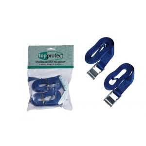 LoadLok spanband 25 mm klemgesp 2 stuks 2.5 m 2 - A50500217 - afbeelding 1