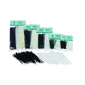 LoadLok bundelbandjes wit 2.5x100 mm pak 200 stuks - A50500004 - afbeelding 1
