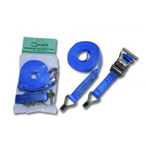 LoadLok sjorband 35 mm ratelgesp met haken 6 m - A50500222 - afbeelding 1