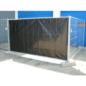 LoadLok bouwhekkleed NVO zwart 1.76x3.41 m - A50500145 - afbeelding 1