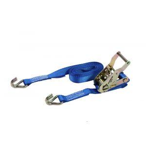 LoadLok spanband Professioneel met ratel en haken 25 mm 5m 350/700 daN oranje - A50500316 - afbeelding 1