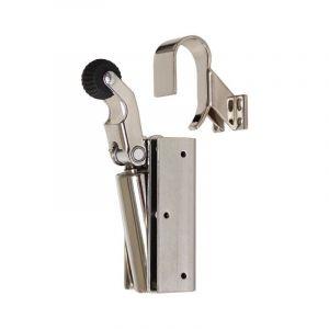 Dictator deuropvanger hydraulisch 1100 nikkel haak 1009 20N cilinder regelbaar - 011975010 - afbeelding 1