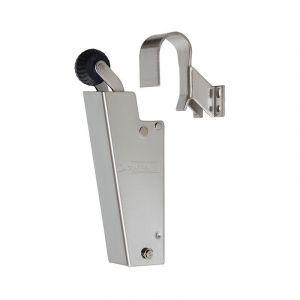 Dictator deuropvanger hydraulisch 1600 RVS A2 haak 1009 50N cilinder regelbaar - Y10100136 - afbeelding 1