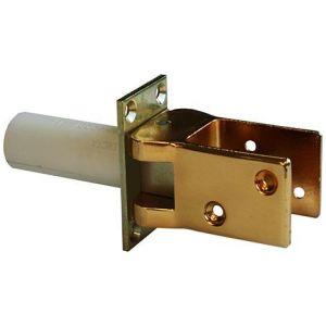 Hawgood deurveerscharnier 42 glans goud met vaststelling - Y10100001 - afbeelding 1