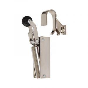 Dictator deuropvanger hydraulisch 1000 nikkel haak 1009 50N cilinder regelbaar - 011975000 - afbeelding 1