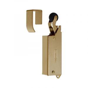 Dictator deuropvanger hydraulisch 1400 glans goud haak 1014 20N cilinder regelbaar - 001975200 - afbeelding 1