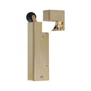 Dictator deuropvanger hydraulisch VS2000 glans goud haak 1020 MLN 10-H 50N cilinder regelbaar - Y10100095 - afbeelding 1