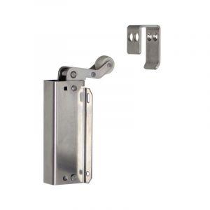 Dictator deuropvanger hydraulisch Junior type 160 RVS duwend - Y10100093 - afbeelding 1
