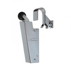Dictator deuropvanger hydraulisch 1600 chroom haak 1009 50N cilinder regelbaar - A14000085 - afbeelding 1