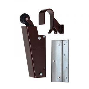 Dictator deuropvanger hydraulisch 1700 bruin RAL 8017 haak 1009 20N cilinder regelbaar 1773130 - Y10100149 - afbeelding 1