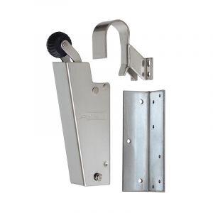 Dictator deuropvanger hydraulisch 1700 RVS A2 haak 1009 20N cilinder regelbaar - Y10100134 - afbeelding 1