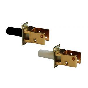 Hawgood deurveerscharnier 4241 glans goud met vaststelling - Y10100002 - afbeelding 1
