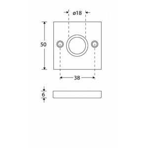 Wallebroek Mi Satori 00.2426.60 krukrozet Bauhaus Style messing mat zwart - A25003561 - afbeelding 1