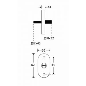 Wallebroek Mi Satori 00.5575.90 draaikiep mechanisme Elegant messing gepolijst ongelakt - A25004956 - afbeelding 1