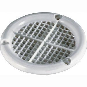 Wallebroek 70.7807.90 ventilatierozet 45 mm kunststof wit - A25006230 - afbeelding 1