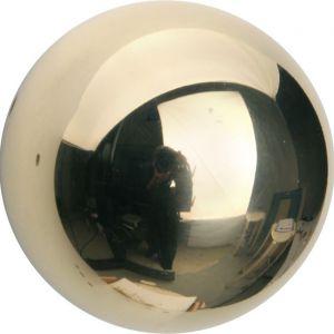 Wallebroek Mi Satori 00.0045.45 knopkruk Kogel 60 mm messing gepolijst gelakt - A25002997 - afbeelding 1