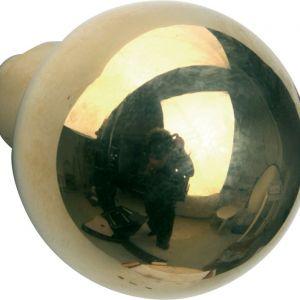 Wallebroek Mi Satori 00.0045.45 knopkruk Kogel 60 mm messing gepolijst ongelakt - A25002998 - afbeelding 1