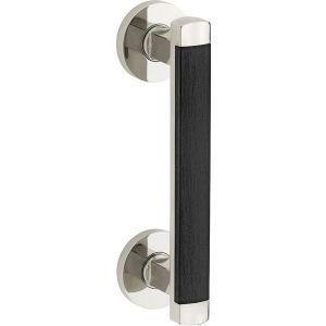 Wallebroek Mi Satori 00.4349.90 deurgreep Dual messing glans nikkel - A25003061 - afbeelding 1