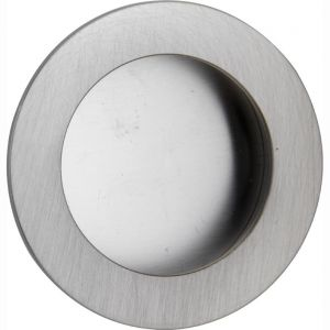 Wallebroek 00.4530.90 schuifdeurkom rond 40 mm messing mat nikkel - A25004721 - afbeelding 1