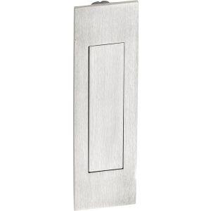 Wallebroek Mi Satori 00.4556.90 schuifdeurkom Touch-Inn rechthoekig 160 mm messing mat nikkel gelakt - A25004666 - afbeelding 1