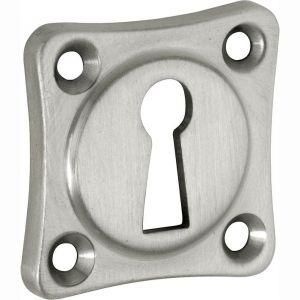 Wallebroek Mi Satori 00.2423.55 sleutelrozet Vierkant 38x38 mm messing mat nikkel ongelakt - A25003648 - afbeelding 1