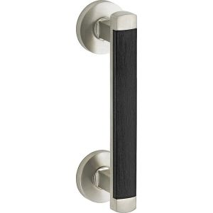 Wallebroek Mi Satori 00.4349.90 deurgreep Dual messing mat nikkel ongelakt - A25003062 - afbeelding 1
