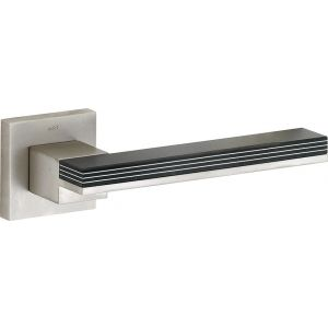 Wallebroek M&T 90.0009.46 deurkruk gatdeel links Mimolimit messing mat nikkel ongelakt-aluminium - A25002406 - afbeelding 1