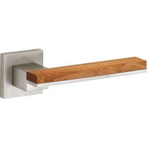 Wallebroek M&T 90.0011.46 deurkruk gatdeel links Mimolimit messing mat nikkel ongelakt-Iep - A25002408 - afbeelding 1
