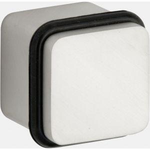 Wallebroek M&T 90.4501.90 deurstopper Minimal messing mat nikkel ongelakt - A25002307 - afbeelding 1