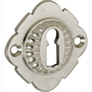 Wallebroek Mi Satori 00.2437.56 sleutelrozet Nouveau messing antiek nikkel - A25003738 - afbeelding 1
