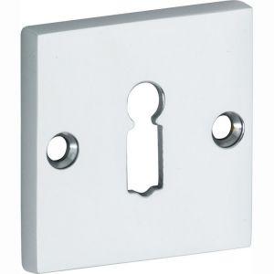 Wallebroek Mi Satori 00.2427.56 sleutelrozet Bauhaus Style BB messing glans chroom - A25003665 - afbeelding 1