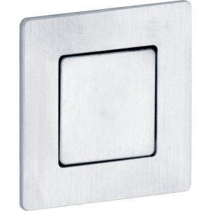 Wallebroek Mi Satori 00.4536.90 schuifdeurkom vierkant Touch-Inn messing mat chroom - A25004661 - afbeelding 1