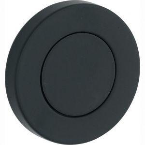 Wallebroek Mi Satori 00.2421.54 blindrozet 50 mm messing mat zwart - A25003430 - afbeelding 1