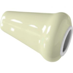 Wallebroek Merigous 80.8322.90 lichtknopje porselein ivoor - Y32106761 - afbeelding 1