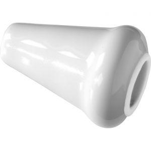 Wallebroek Merigous 80.8323.90 lichtknopje porselein wit - A25006236 - afbeelding 1