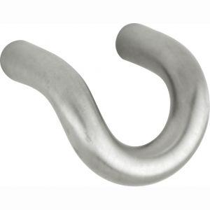 Wallebroek 86.8018.90 meubelknop Bent 42 mm RVSM A2 - A25006177 - afbeelding 1