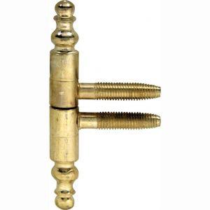 Wallebroek 86.4527.90 inboormeubelpaumelle vaas 9 mm ijzer vermessingd - A25000103 - afbeelding 1