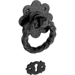 Wallebroek Idyllique 70.0004.47 krukgarnituur Cardiff SL ijzer zwart - A25001550 - afbeelding 1