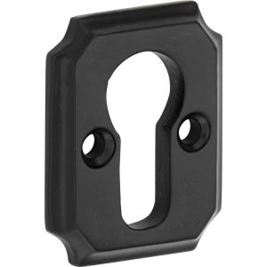 Wallebroek Idyllique 70.2432.57 PC rozet Arlon ijzer zwart - A25003526 - afbeelding 1