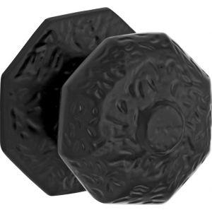 Wallebroek 70.4004.90 voordeurknop Oxford ijzer zwart - A25002342 - afbeelding 1