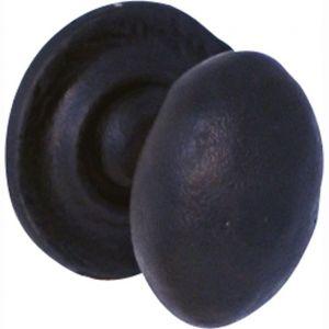 Wallebroek 70.8000.90 meubelknop Oxford ijzer zwart - A25006003 - afbeelding 1